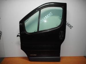 Opel Vivaro/Renault Traffic/Nissan Primastar 2002-2014 πόρτα εμπρός αριστερή ανθρακί