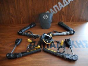 set airbag opel meriva b 2010 2014 mayra 300x225 Σετ AirBag Opel Meriva B 2010 2014 μαύρα