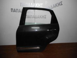 Fiat 500L 2012-2018 πισω αριστερή πόρτα ανθρακί