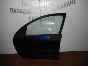 Smart ForFour 2004-2014 εμπρός αριστερή πόρτα μπλε