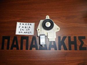 Skoda Fabia 2014-2017 πίσω αριστερό μοτέρ ηλεκτρικών παραθύρων Kωδικός: 6V0 959 811 A
