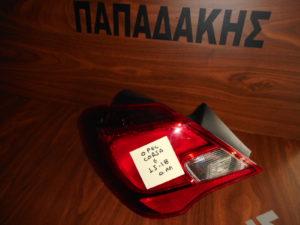 Opel Corsa E 2015-2018 φανάρι πίσω αριστερό