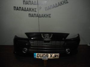 peugeot 307 2005 2007 empros profylaktiras molyvi me provoleis plaisio chromio 300x225 Peugeot 307 2005 2007 εμπρός προφυλακτήρας μολυβί με προβολείς πλαίσιο χρώμιο