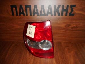vw fox 2005 2011 piso aristero fanari 300x225 VW Fox 2005 2011 πίσω αριστερό φανάρι