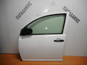 Daihatsu Sirion 2004-2011 πόρτα εμπρός αριστερή άσπρη