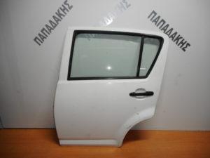 Daihatsu Sirion 2004-2011 πόρτα πίσω αριστερή άσπρη