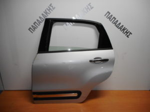 Fiat 500L 2012-2019 πόρτα πίσω αριστερή ασημί