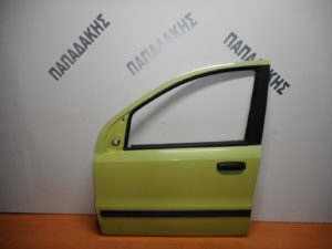 Fiat Panda 2003-2012 πόρτα εμπρός αριστερή κίτρινο ανοιχτό