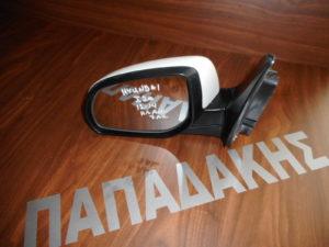 Hyundai i20 2012-2014 ηλεκτρικά ανακλινόμενος καθρέπτης αριστερός άσπρος 7 ακίδες