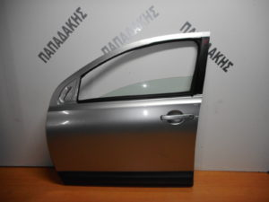Nissan Qashqai +2 2006-2013 πόρτα εμπρός αριστερή ασημί