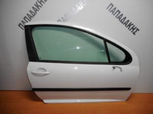 peugeot 207 2006 2012 porta dexia dythyri aspri 300x225 Peugeot 207 2006 2012 πόρτα δεξιά δύθυρη άσπρη