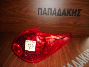 peugeot 207 sw 2006 2012 fanari dexio piso 300x225 Peugeot 207 SW 2006 2012 φανάρι πίσω δεξιό