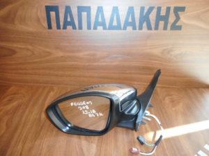 Peugeot 208/2008 2012-2018 ηλεκτρικός αριστερός καθρέπτης νίκελ 7 καλώδια