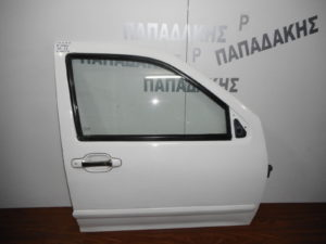 Isuzu D-Max 2002-2013 πόρτα εμπρός δεξιά άσπρη