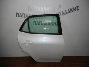 Toyota Auris 2007-2013 πόρτα πίσω δεξιά άσπρη
