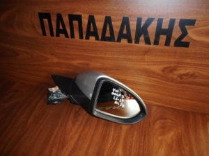 VW Golf 7 2013-2019 ηλεκτρικός καθρέπτης δεξιός ασημί 9 καλώδια