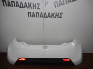 Chevrolet Spark 2010-2015 πίσω προφυλακτήρας άσπρος