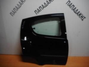 Citroen C1/Peugeot 107 2006-2014 πόρτα πίσω δεξιά μαύρη