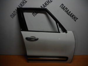 Fiat 500L 2012-2019 πόρτα εμπρός δεξιά άσπρη
