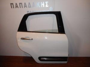 fiat 500l 2012 2019 porta piso aspri dexia 300x225 Fiat 500L 2012 2019 πόρτα πίσω δεξιά άσπρη