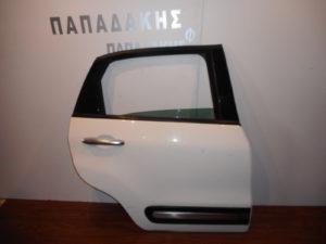 fiat 500l 2012 2019 porta piso dexia aspri 300x225 Fiat 500L 2012 2019 πόρτα πίσω δεξιά άσπρη