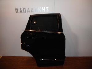 Ford Kuga Vignale 2016-2019 πόρτα πίσω δεξιά μαύρη (φάσα με χρώμιο)