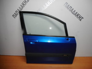 Honda Jazz 2002-2008 πόρτα εμπρός δεξιά μπλε