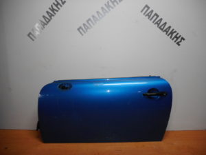 Mini Cooper R56 2006-2014 πόρτα αριστερή δύπορτη μπλε