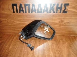 Opel Mokka 2013-2019 ηλεκτρικά ανακλινόμενος καθρέπτης δεξιός μαύρος 7 καλώδια