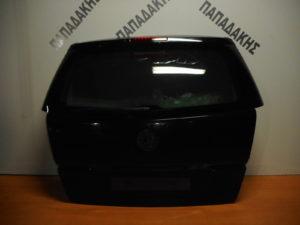 Opel Zafira B 2005-2012 οπίσθια πόρτα μαύρη