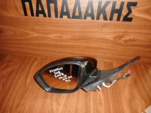 Peugeot 208/2008 2014-2019 ηλεκτρικά ανακλινόμενος καθρέπτης αριστερός μαύρος 9 καλώδια