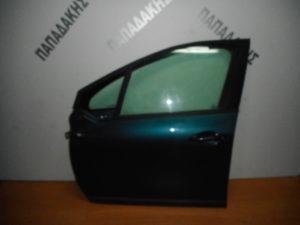 Peugeot 208 2012-2019 πόρτα εμπρός αριστερή μπλε
