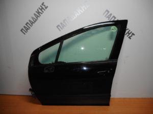 Peugeot 308 2008-2013 πόρτα εμπρός αριστερή μαύρη