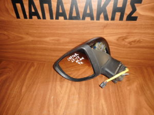 Renault Captur 2013-2017 ηλεκτρικά ανακλινόμενος καθρέπτης αριστερός μαύρος 9 καλώδια