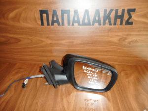 Renault Scenic 2016-2019 ηλεκτρικά ανακλινόμενος καθρέπτης δεξιός μαύρος 13 καλώδια φως ασφαλείας