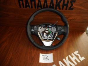Toyota Rav 4 2013-2019 βολάν τιμονιού δερμάτινο με χειριστήρια
