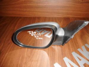 Hyundai i30 2007-2012 ηλεκτρικός καθρέπτης αριστερός ασημί 5 ακίδες