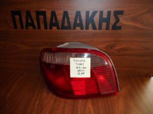 Toyota Yaris 1999-2004 φανάρι πίσω αριστερό με ντουι