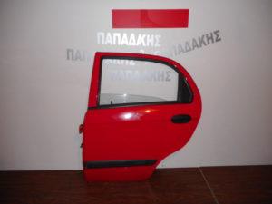 chevrolet matiz 2005 2009 porta piso aristeri kokkini 300x225 Chevrolet Matiz 2005 2009 πόρτα πίσω αριστερή κόκκινη