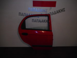 chevrolet matiz 2005 2009 porta piso dexia kokkini 300x225 Chevrolet Matiz 2005 2009 πόρτα πίσω δεξιά κόκκινη