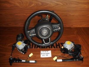 jeep renegade 2014 2019 set airbag mayra 300x225 Jeep Renegade 2014 2019 σετ AirBag μαύρα