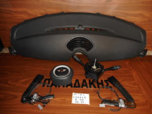 mini cooper r56 2006 2014 set airbag mayra 300x225 Mini Cooper R56 2006 2014 σετ AirBag μαύρα