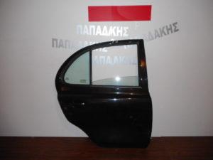 nissan micra k12 2003 2010 porta piso dexia mayri 300x225 Nissan Micra K12 2003 2010 πόρτα πίσω δεξιά μαύρη