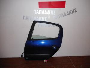 peugeot 206 1998 2009 porta piso aristeri mple skoyro 300x225 Peugeot 206 1998 2009 πόρτα πίσω αριστερή μπλε σκούρο