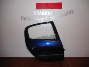 peugeot 206 1998 2009 porta piso dexia mple skoyro 300x225 Peugeot 206 1998 2009 πόρτα πίσω δεξιά μπλε σκούρο