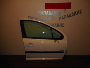 peugeot 207 2006 2012 porta empros dexia aspri 300x225 Peugeot 207 2006 2012 πόρτα εμπρός δεξιά άσπρη