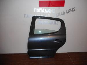 peugeot 207 2006 2012 porta piso aristeri molyvi 300x225 Peugeot 207 2006 2012 πόρτα πίσω αριστερή μολυβί