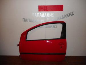toyota aygo citroen c1 peugeot 107 2006 2014 porta aristeri dythyri kokkini 300x225 Toyota Aygo/Citroen C1/Peugeot 107 2006 2014 πόρτα αριστερή δύθυρη κόκκινη