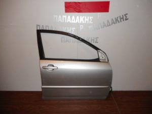 toyota corolla 2002 2006 porta empros dexia asimi vides isies 300x225 Toyota Corolla 2002 2006 πόρτα εμπρός δεξιά ασημί βίδες ίσιες