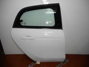 Smart ForFour 2014-2021 πίσω δεξιά πόρτα άσπρη